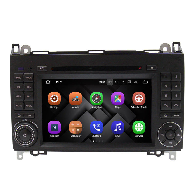 Android 8.0 Mercedes Benz DVD Player With Canbus Rear Camera AUX BT
