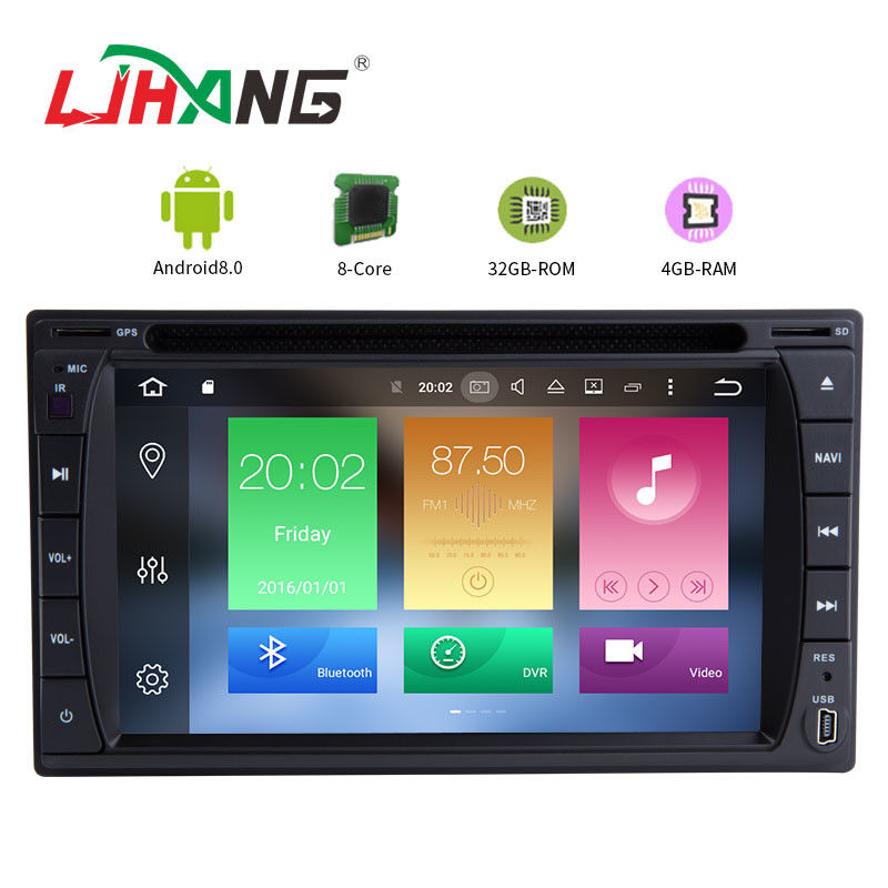 7 Inch Android 8.0 Uuniversal Touch Screen Car Stereo Player AM FM AUX-IN Map