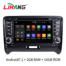 Android 7.1 رادیو ماشین آئودی Car DVD Player با فای BT Gps AUX Video