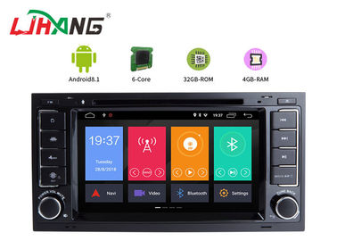 Android 8.1 VW Touareg Volkswagen DVD Player با فای BT GPS AUX ویدئو