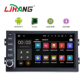 Android 7.1 Peugeot DVD Player 16 گیگابایت رم با کارت SD Card Free WIFI 3G